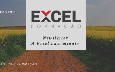 Excel Num Minuto – Newsletter de Junho