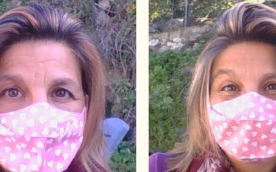 Sorrir com máscara?